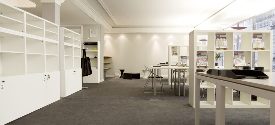co working poste de travail en open space lausanne flat4expat. Black Bedroom Furniture Sets. Home Design Ideas